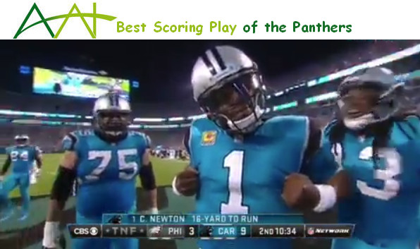 NFL scores today for the Panthers