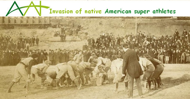 Invasion of native American super athletes