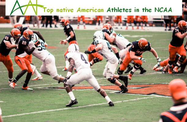 Top native american athletes in the NCAA