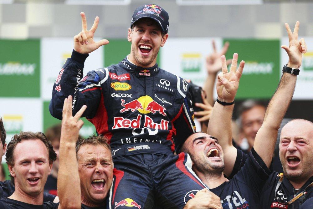 Vettel Vettel formula 1 world championship leaderboard