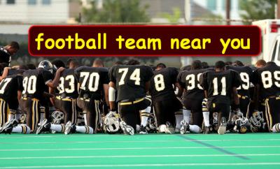 football team near you